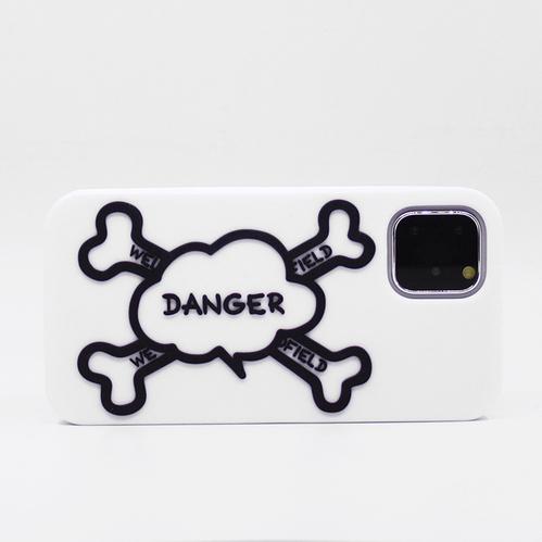 Candies Simple系列 骷顱頭(白) - iPhone 11 Pro