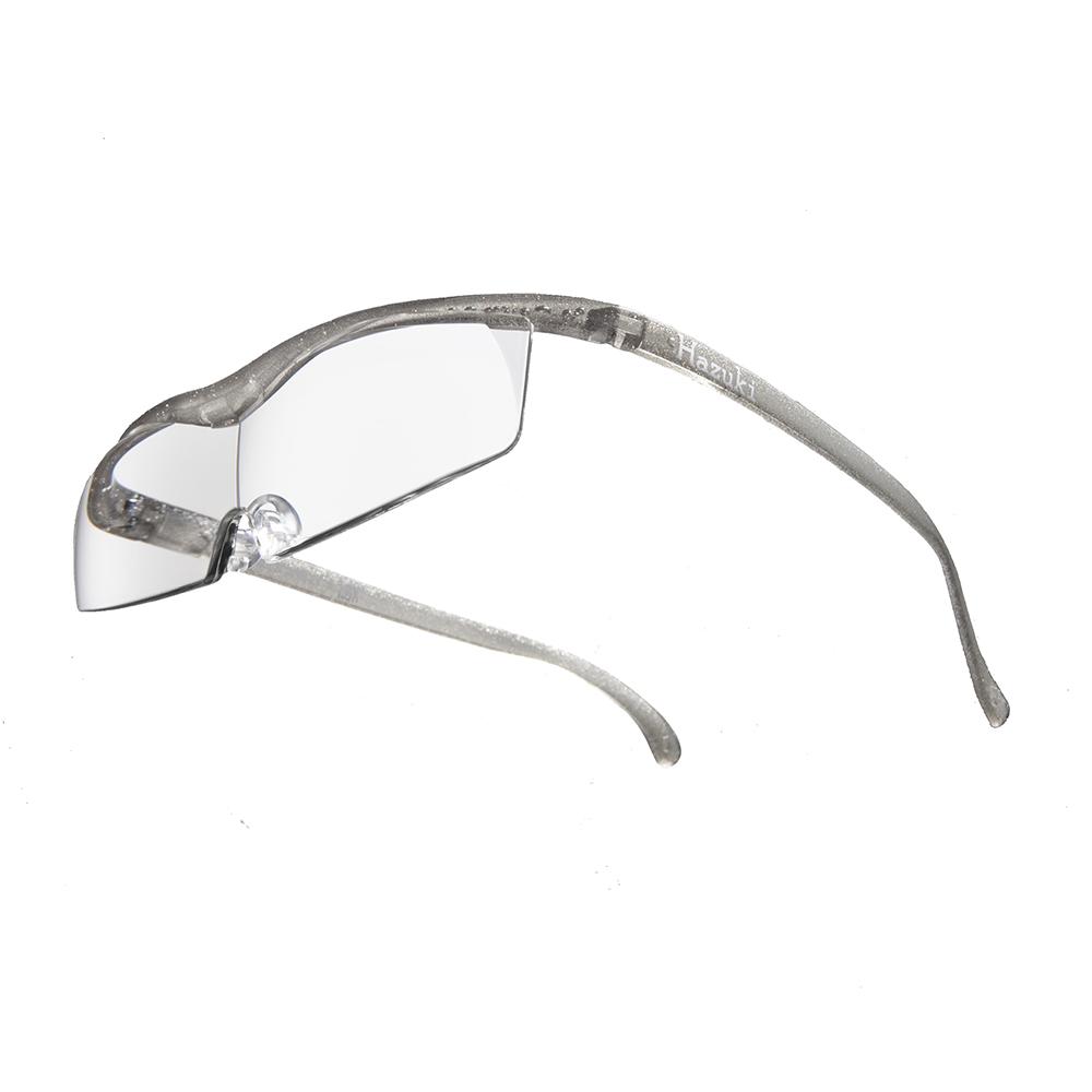 Hazuki|日本Hazuki葉月透明眼鏡式放大鏡1.6倍標準鏡片(銀灰)