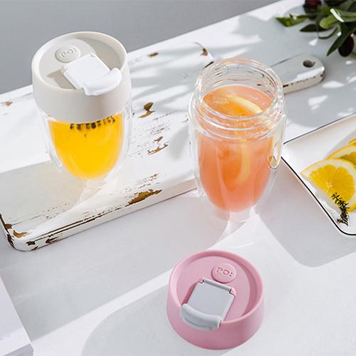 PO:Selected|丹麥奇法雙層玻璃杯325ml(卡其)