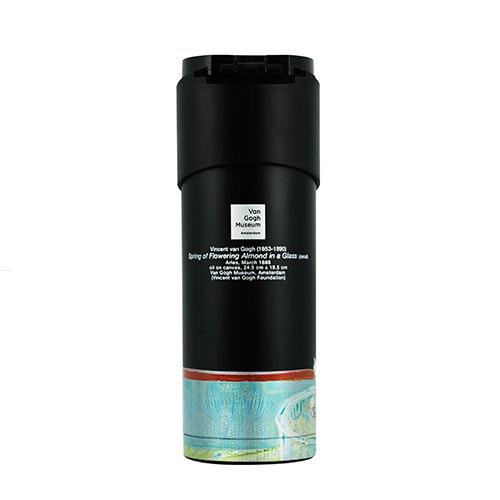 PO:Selected 丹麥掀蓋12oz保溫泡茶杯-梵谷系列(盛開的花)