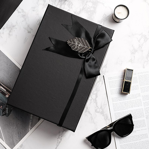 PO:Selected|丹麥手沖咖啡禮盒組(手動咖啡磨-黑/咖啡玻璃杯350ml-黑灰)