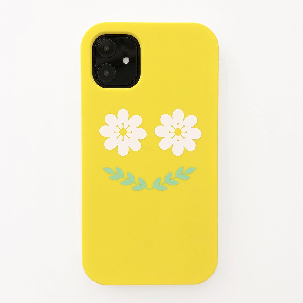 Candies|Simple系列 Smile Flower(黃) - iPhone 11