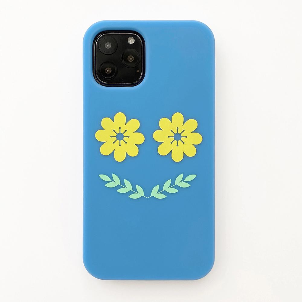 Candies|Simple系列 Smile Flower(藍) - iPhone 11 Pro