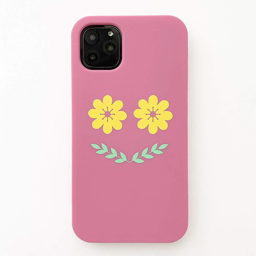 Candies|Simple系列 Smile Flower(粉) - iPhone 11 Pro Max