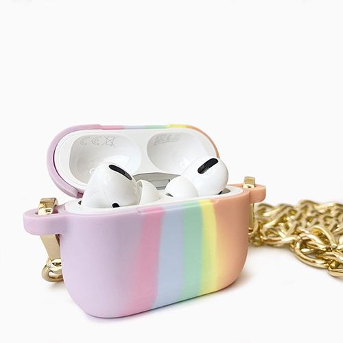 Candies|AirPods Pro收納盒 (長鏈-光之彩虹)