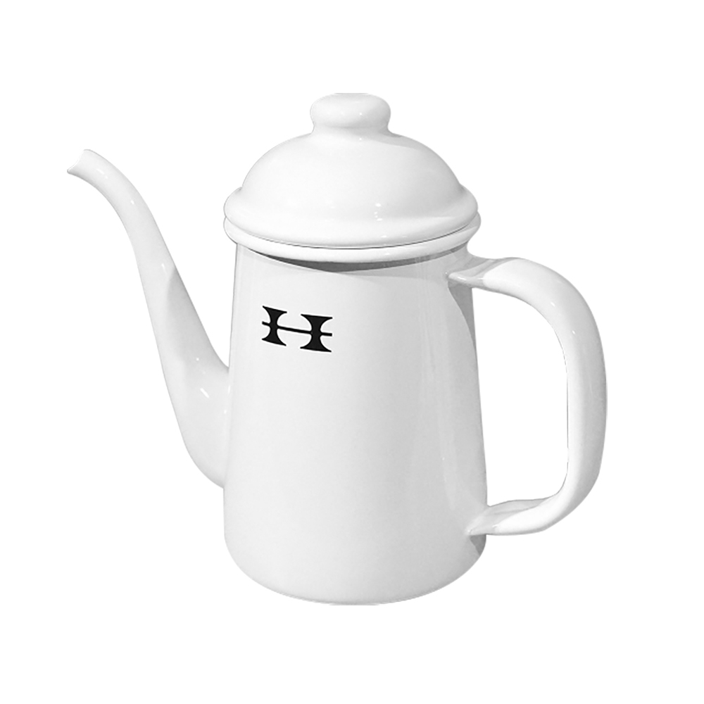 Horiguchi|日本堀口咖啡琺瑯溫水壺(白)