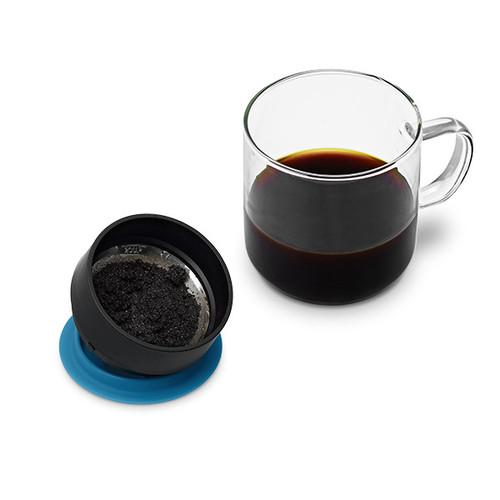 PO:Selected|丹麥研磨過濾咖啡玻璃杯240ml (灰)