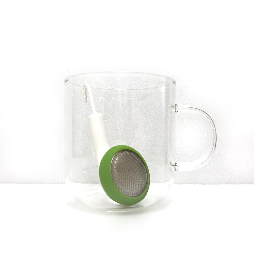 PO:Selected|丹麥耳機造型泡茶器(綠)