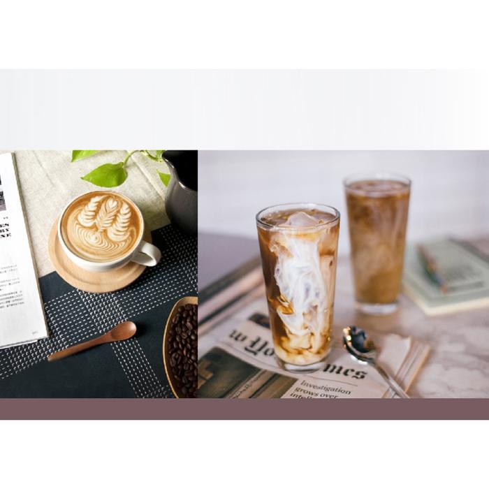 (複製)PO:Selected|丹麥手沖咖啡禮盒組(手沖咖啡壺-灰/咖啡玻璃杯350ml-黑灰)
