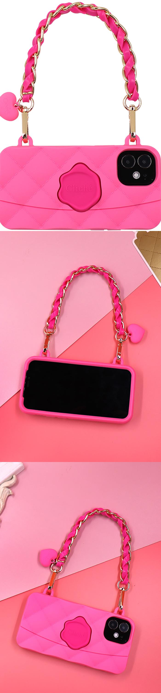 Candies 紅粉佳人手提晚宴包 - iPhone 12 Pro Max