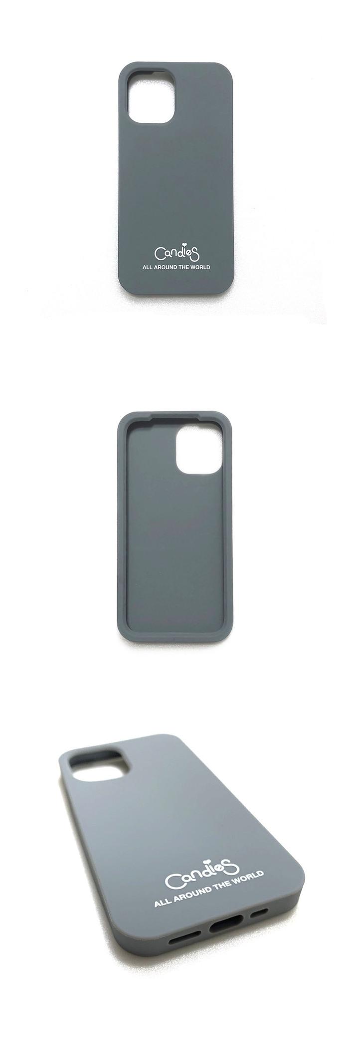(複製)Candies|Simple系列 Candies logo素面殼(米白) - iPhone 12/12 Pro