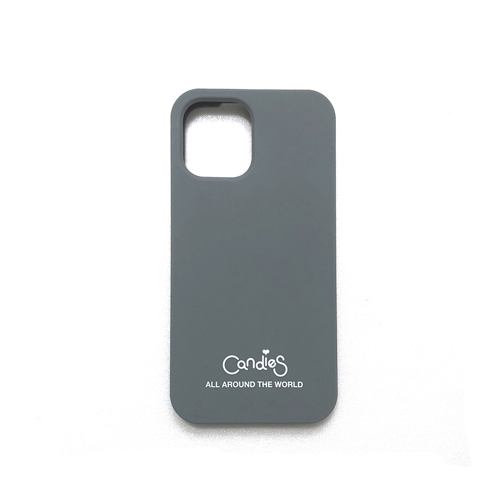 Candies|Simple系列 Candies logo素面殼(灰) - iPhone 12/12 Pro