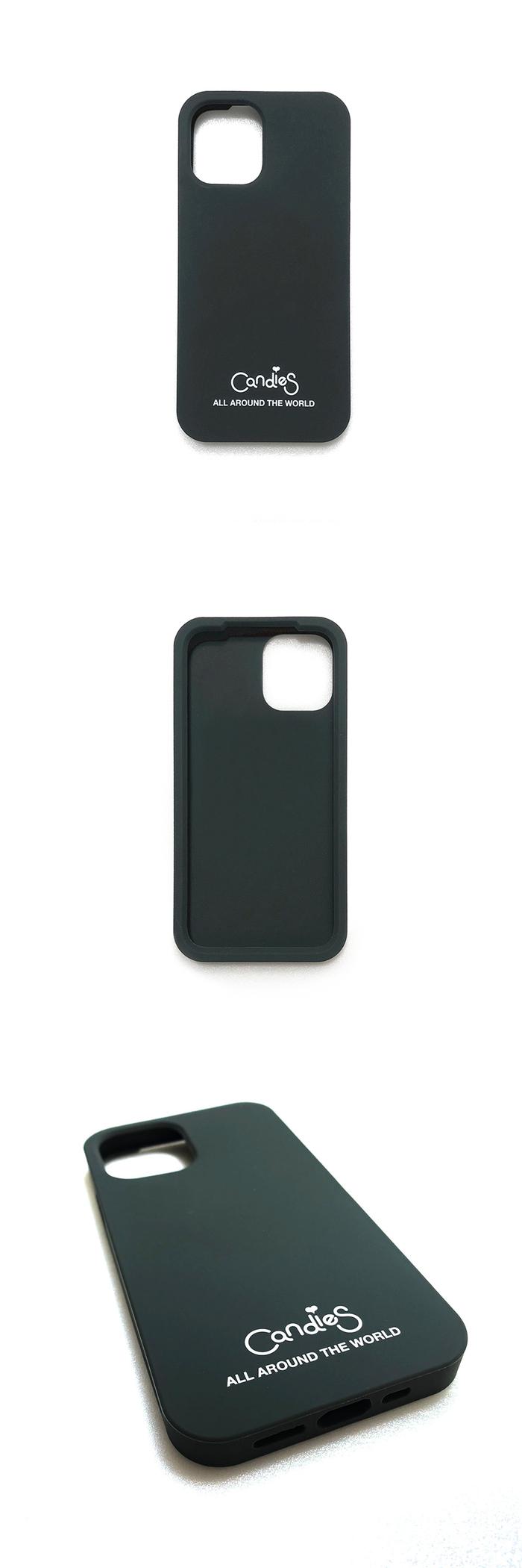 (複製)Candies|Simple系列 Candies logo素面殼(灰) - iPhone 12/12 Pro