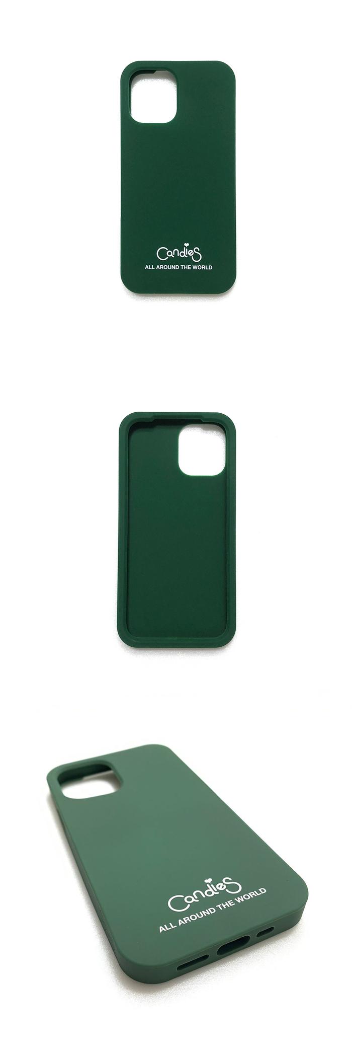 (複製)Candies|Simple系列 Candies logo素面殼(海軍藍) - iPhone 12/12 Pro