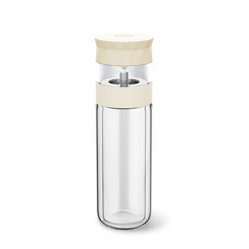 PO:Selected|丹麥易泡雙層玻璃杯280ml(白)