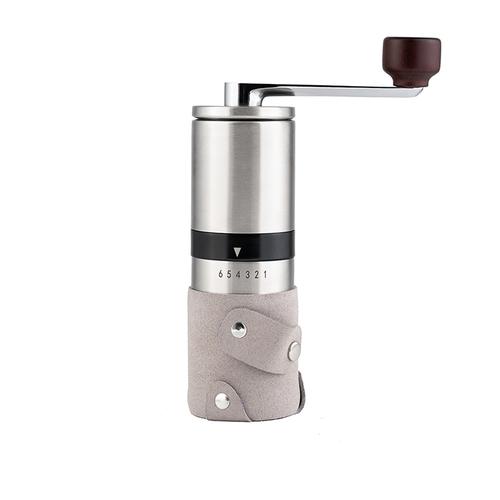 PO:Selected|丹麥棱角保溫杯咖啡三件禮盒組(棱角保溫杯-銀/咖啡磨2.0/咖啡濾網)