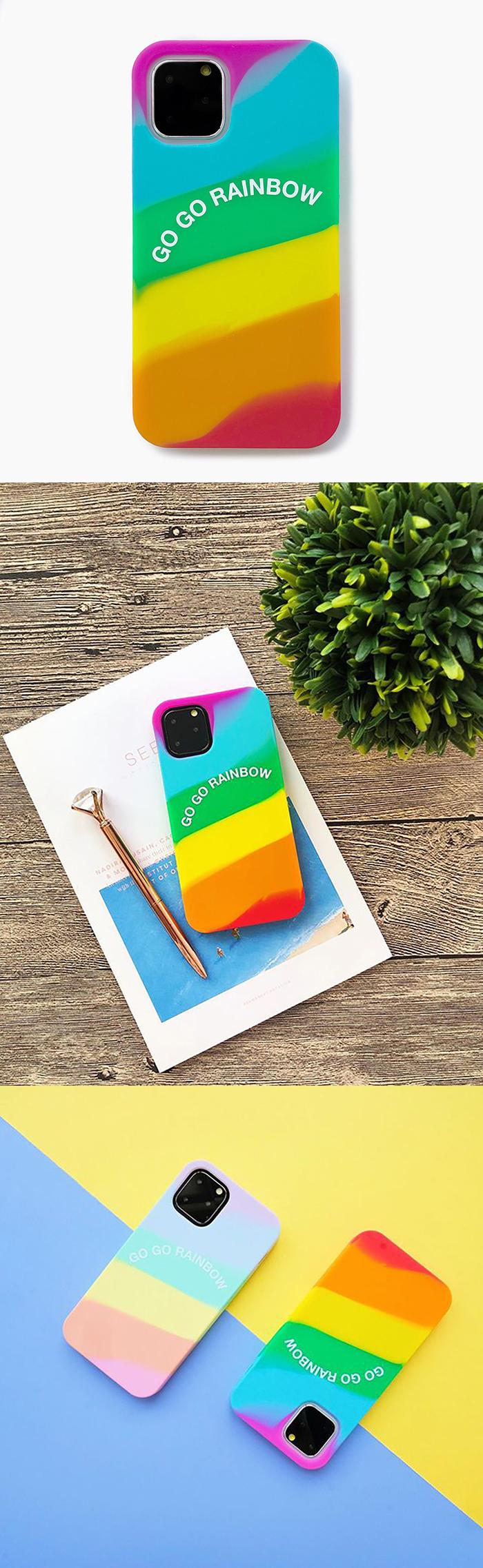 Candies Simple系列 愛之彩虹 - iPhone 11 Pro