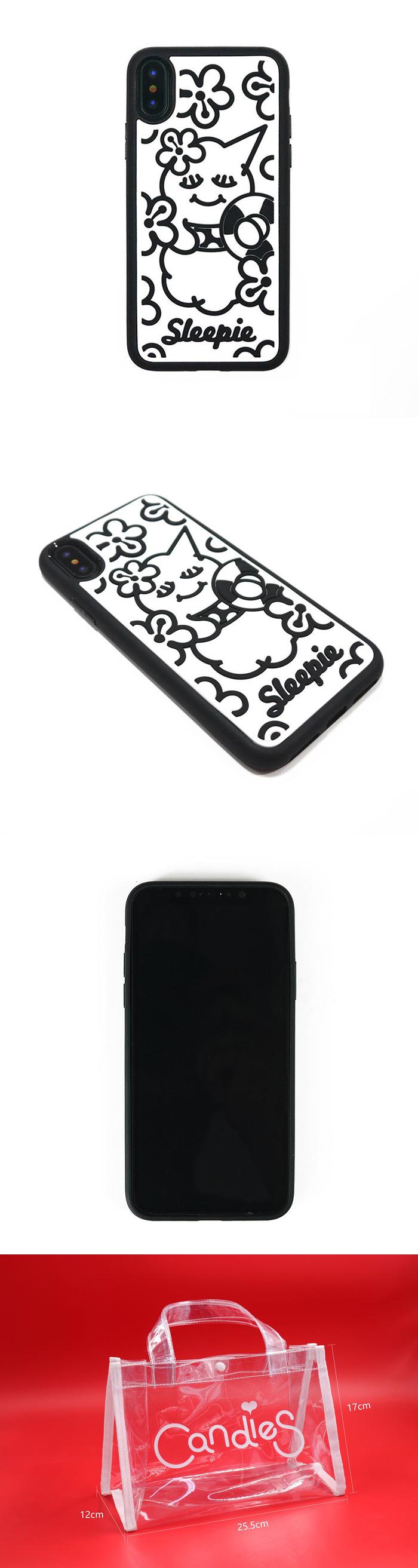 (複製)Candies|睡眠寶寶方型殼(夏日黃)-IPhone X/XS