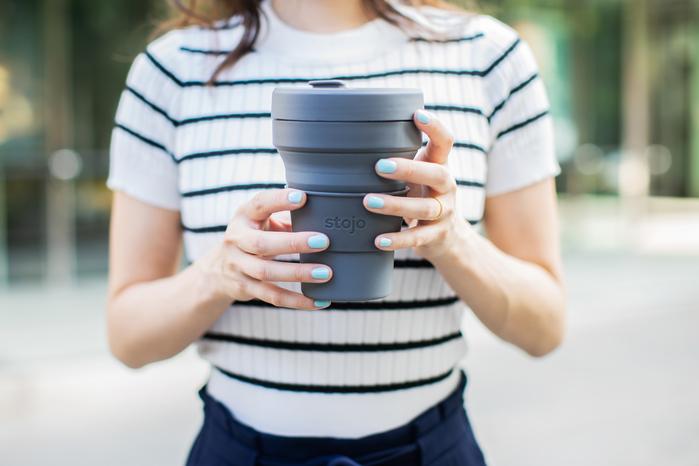 Stojo|泰坦杯 24oz - 石炭灰(紐約限定版)