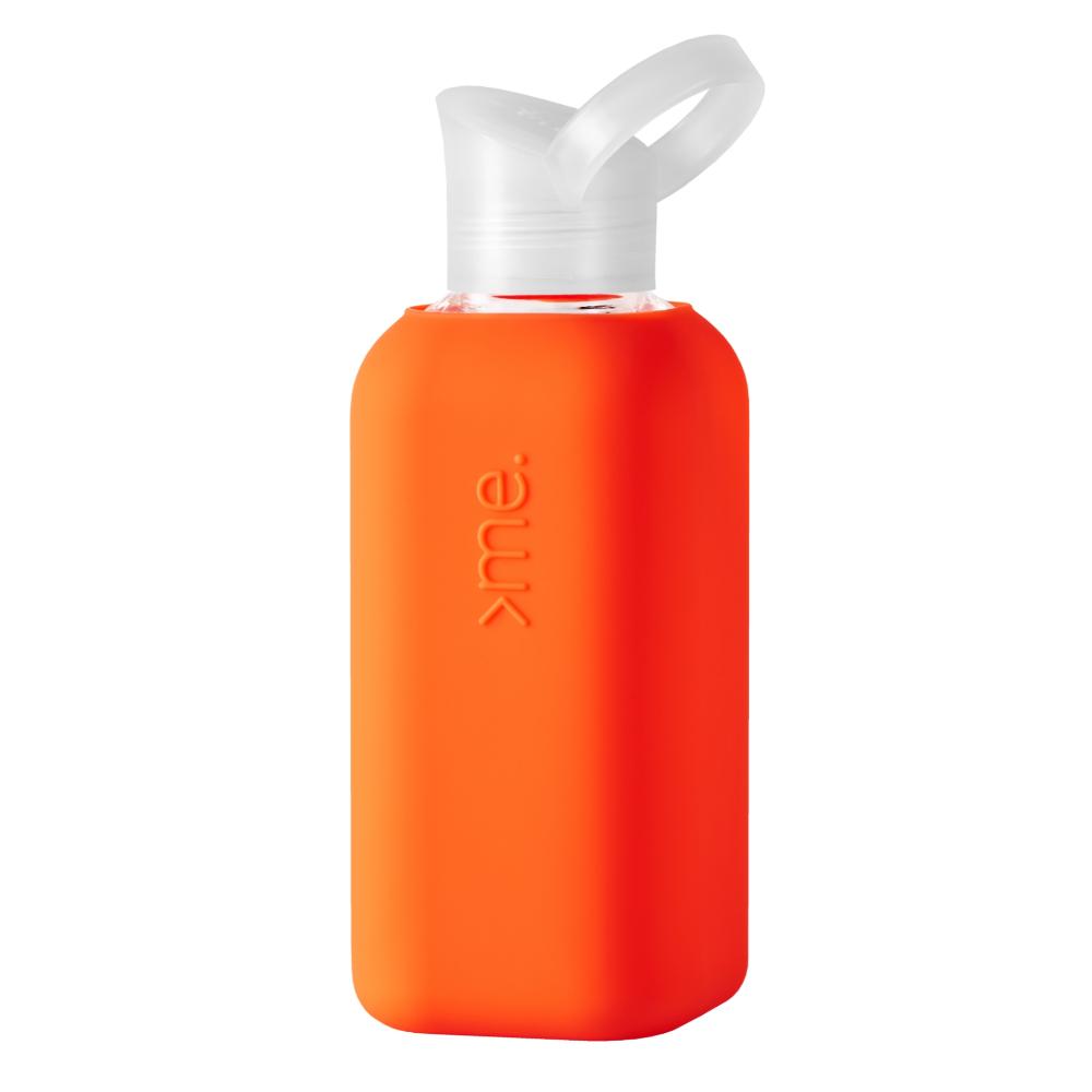 SQUIREME|超輕量果凍瓶 500ml - 珊瑚橘