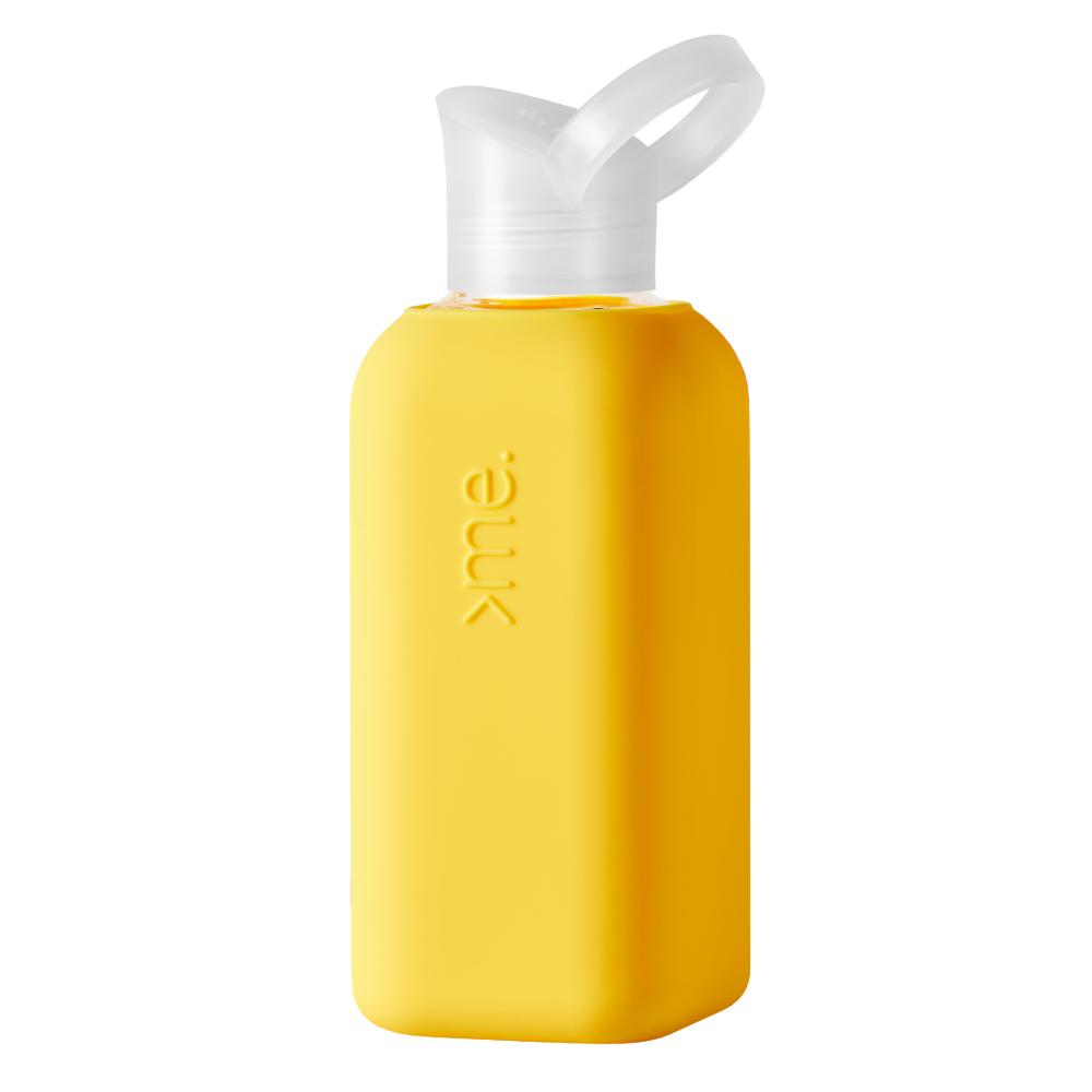 SQUIREME|超輕量果凍瓶 500ml - 天鵝黃