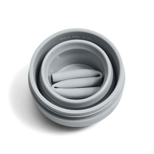 Stojo 折疊伸縮泰坦杯 24oz - 羊絨灰(紐約Tribeca限定版)