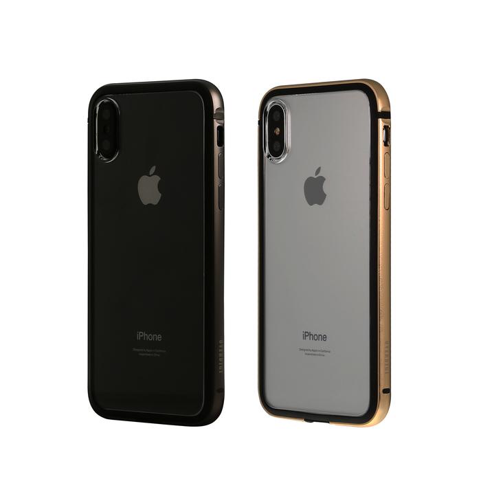 OVERDIGI|iPhoneXs/X 雙料防撞減震鋁合金邊框