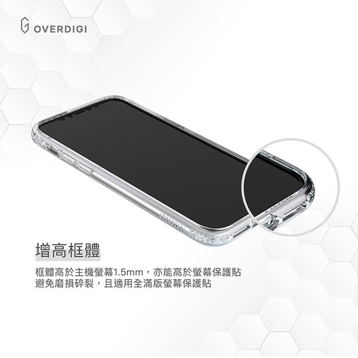 OVERDIGI iPhone 11 Pro 蜂巢晶格雙料防摔保護殼
