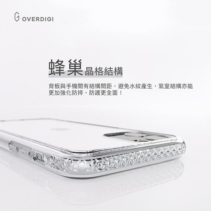 OVERDIGI|iPhone 11 ProMax 蜂巢晶格雙料防摔保護殼