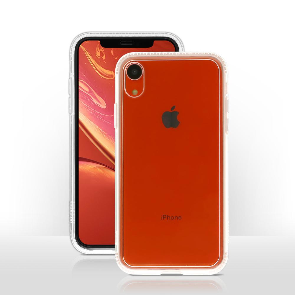 OVERDIGI|iPhoneXR 雙料防撞抗刮透殼_透明