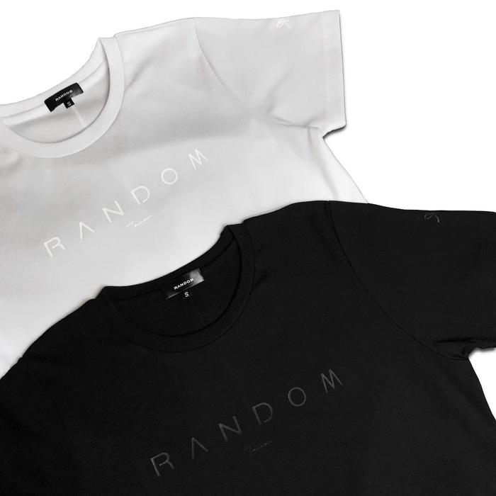 RANDOM|LOGO T-Shirt (黑/白)