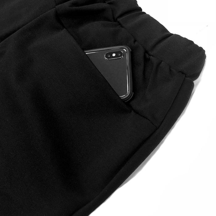 (複製)RANDOM|Oblique Opening T-Shirt (黑/白)