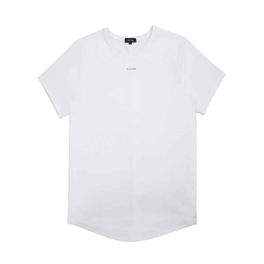 RANDOM|Simple Design T-Shirt (黑/白)