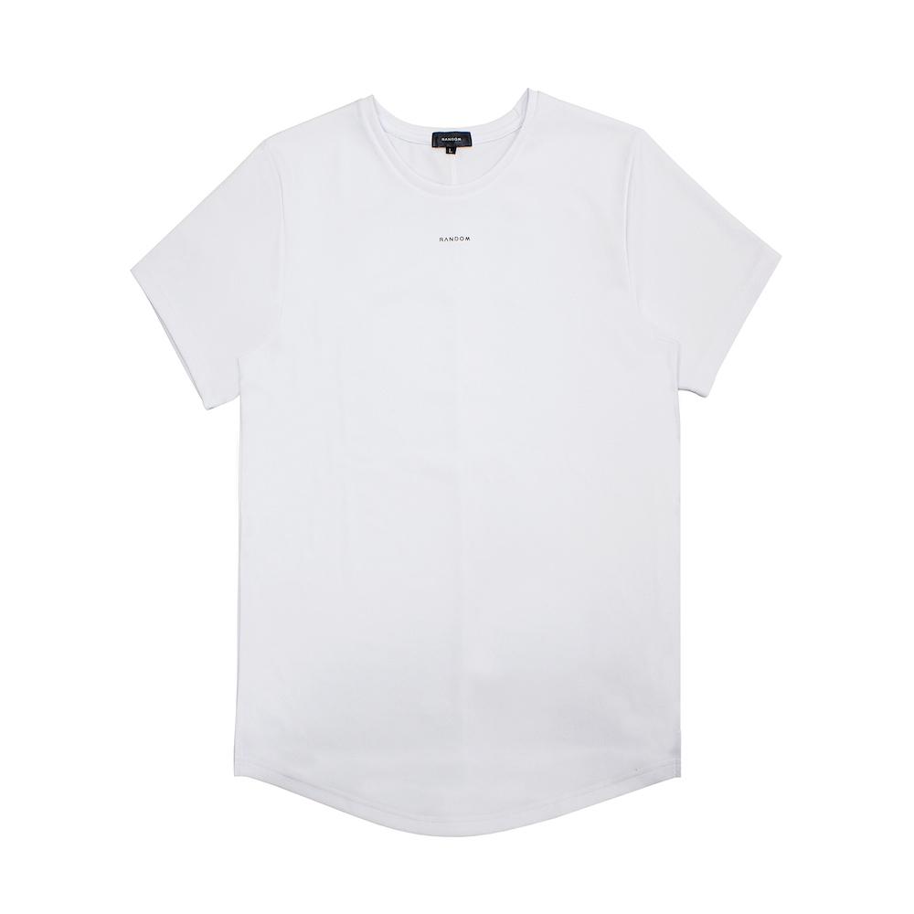 RANDOM|Simple Design T-Shirt (黑/白)