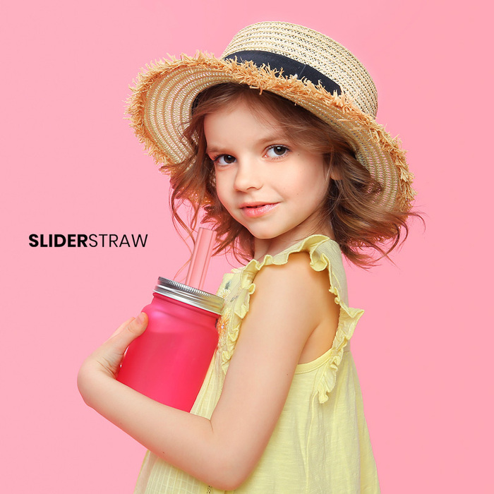(複製)SLIDERSTRAW│可拆式環保吸管 4色組/21.5cm