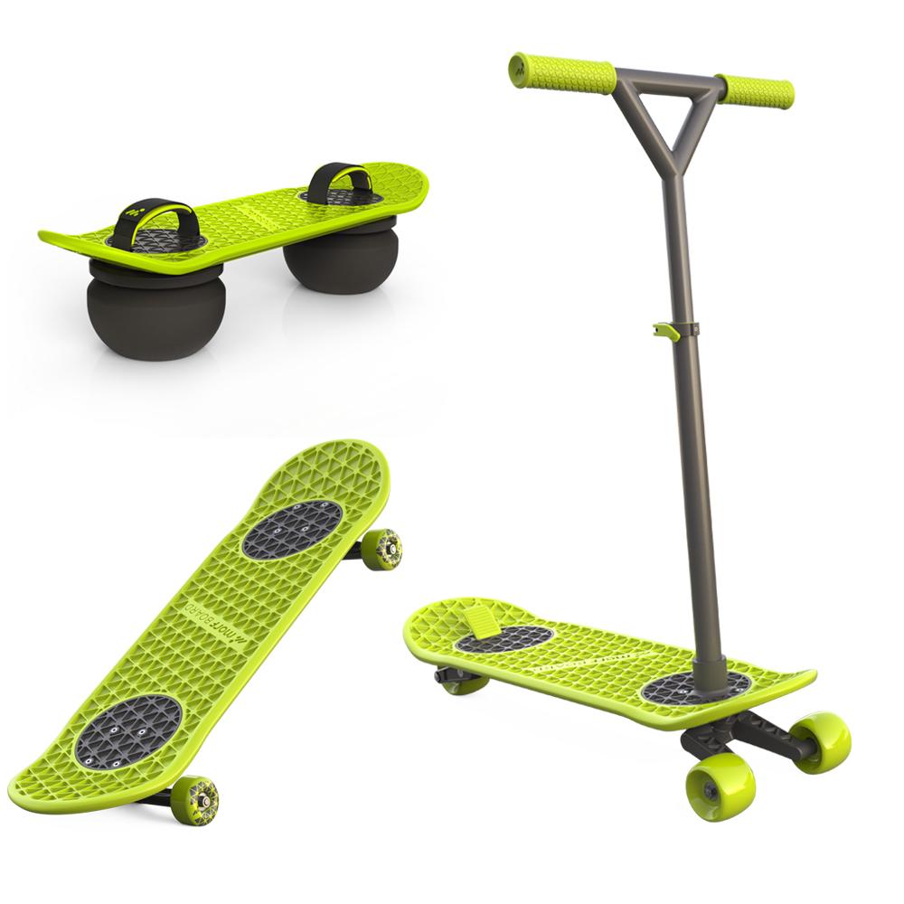 MorfBoard │多功能2 in 1 滑板 / 滑板車+彈跳球
