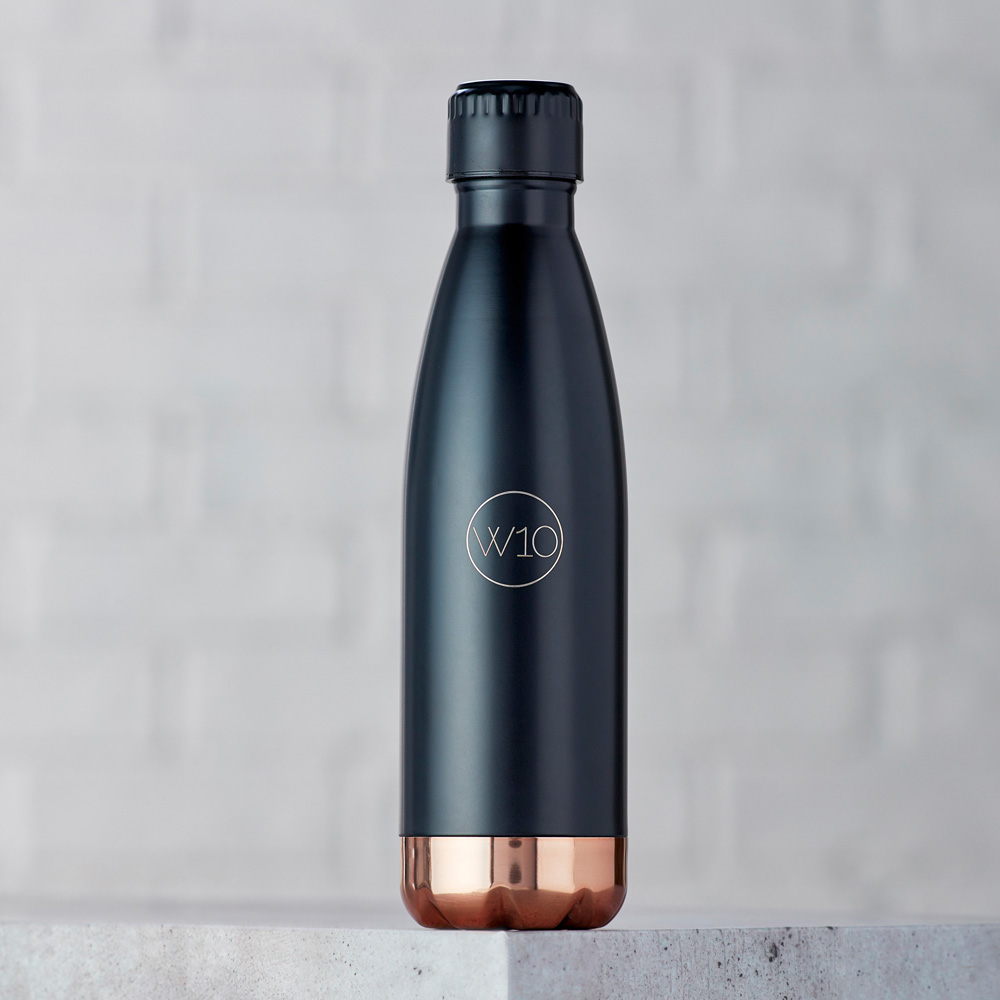 W10│曲線保溫瓶-BEVINGTON消光黑