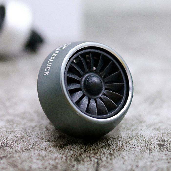 (複製)KENLUCK 飛機引擎造型 出風口香氛器 可自行滴入精油 (熙黝黑)