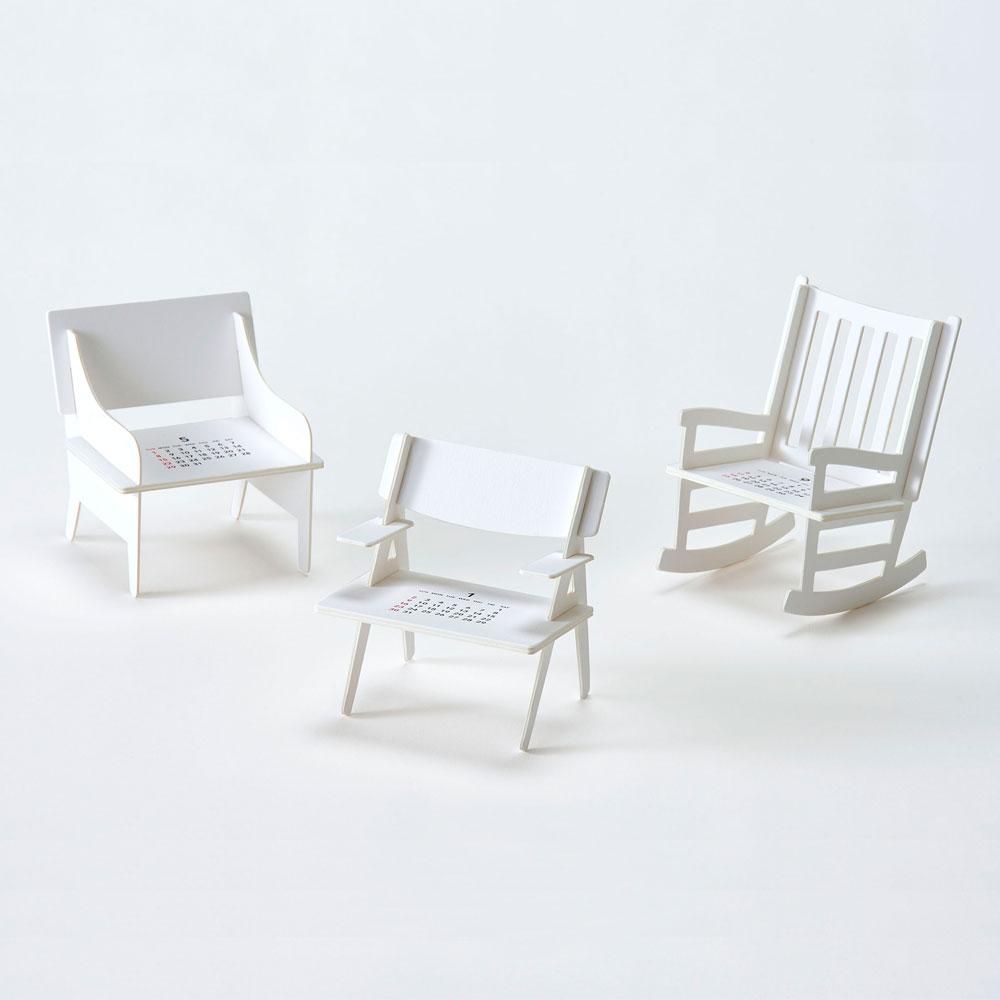 Good Morning 2022年曆- Chairs