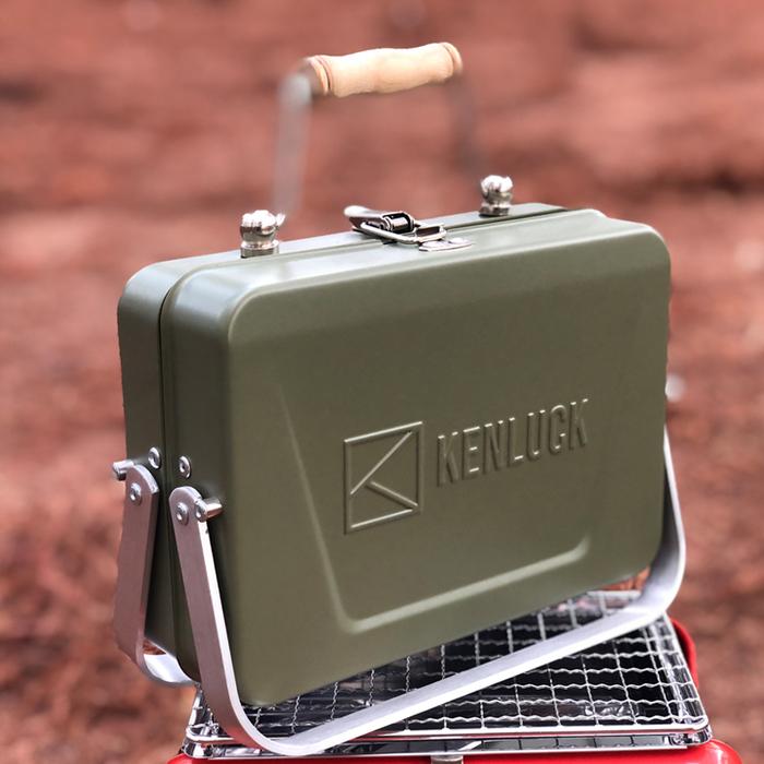 (複製)KENLUCK Mini Grill 迷你攜帶型烤肉架 雅典白
