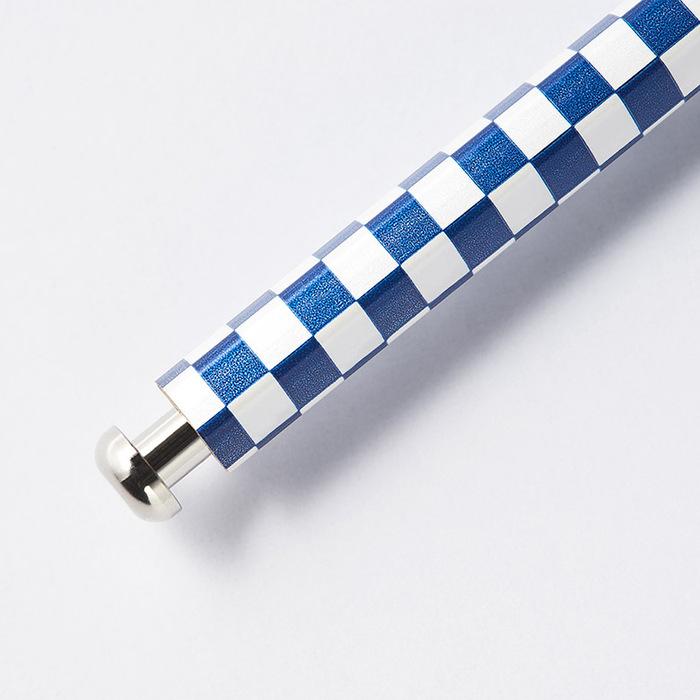 北星鉛筆|大人的鉛筆 和流 市松 濃藍