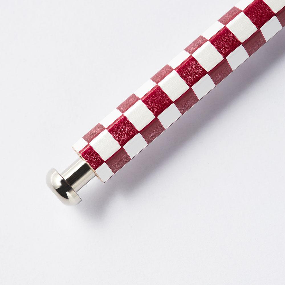 北星鉛筆|大人的鉛筆 和流 市松 臙脂