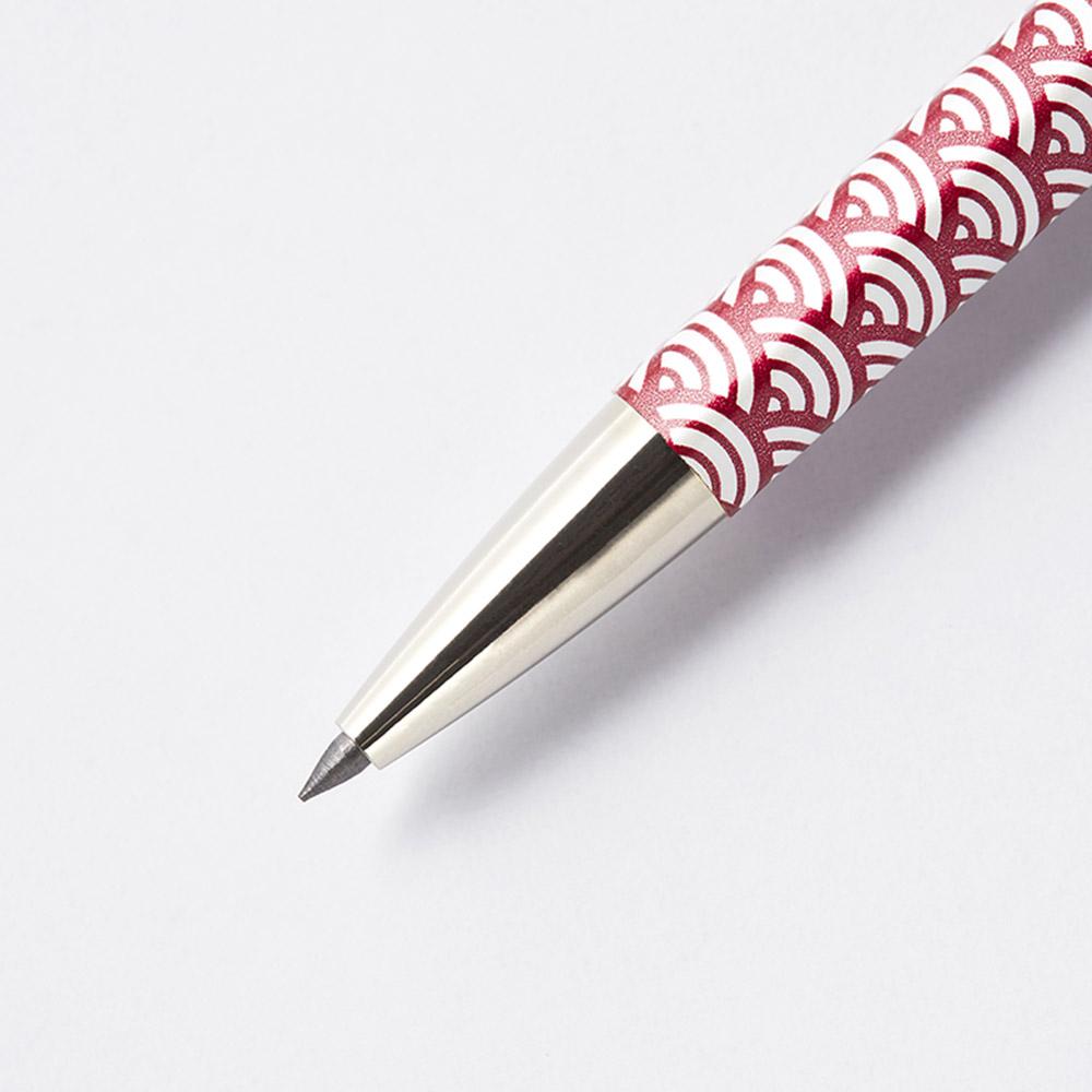 北星鉛筆|大人的鉛筆 和流 青海波 臙脂