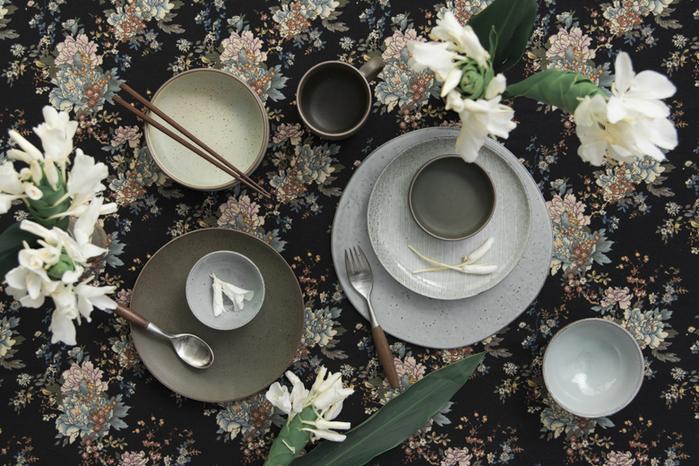 (複製)WAGA|日式 柴燒手作 15cm 陶瓷淺碗|軍綠|單品