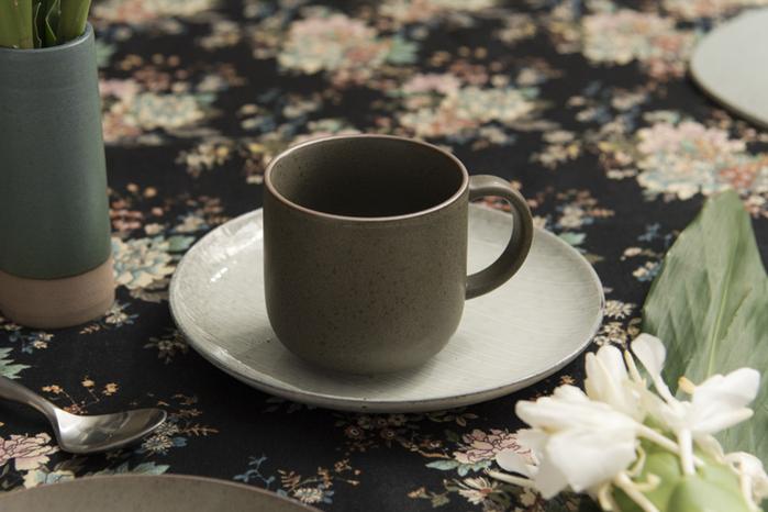 (複製)WAGA|日式 柴燒手作 22cm 陶瓷淺盤|米黃|單品