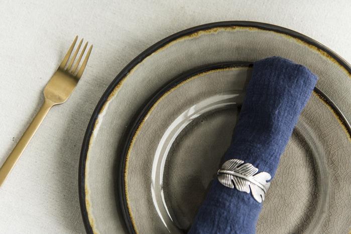 (複製)WAGA|歐式 冰裂手捻 20cm 陶瓷橢圓盤|赤褐|單品