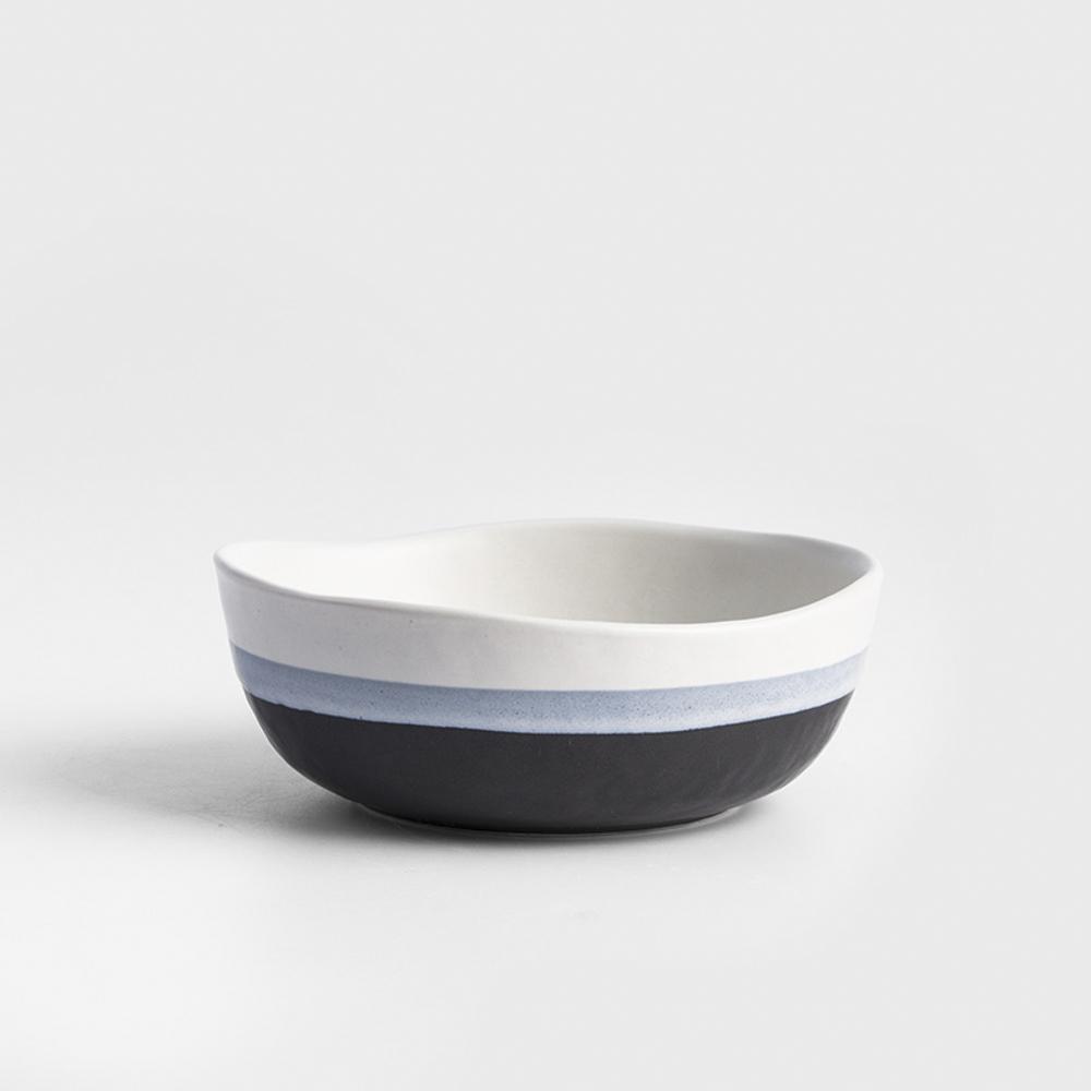 WAGA 日式 灰色地帶 12.2cm 陶瓷小湯碗 單品