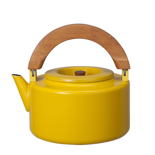 CB JAPAN | 北歐系列琺瑯 原木泡茶兩用壺 | 四色可選 | 單品