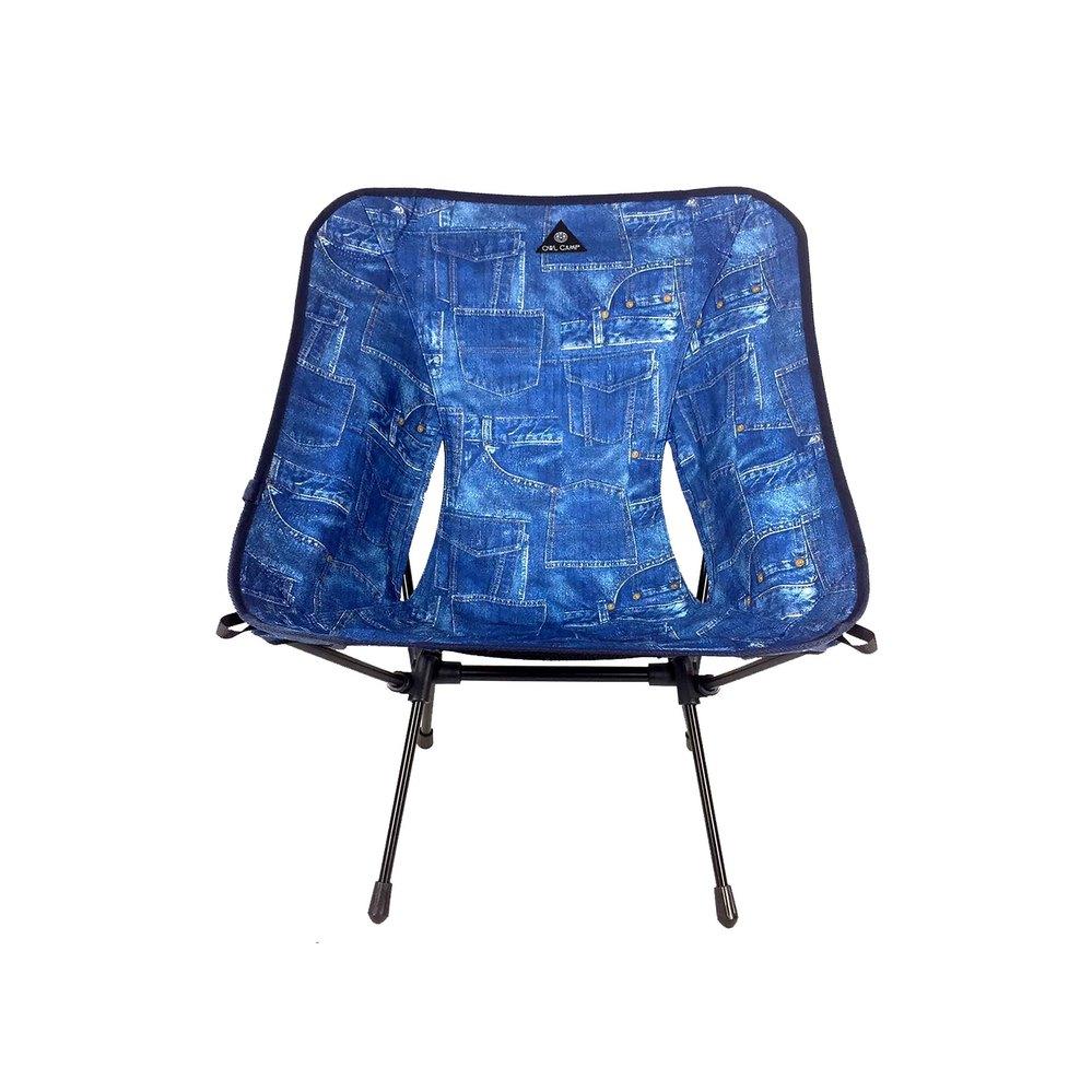 OWL CAMP|丹寧口袋椅