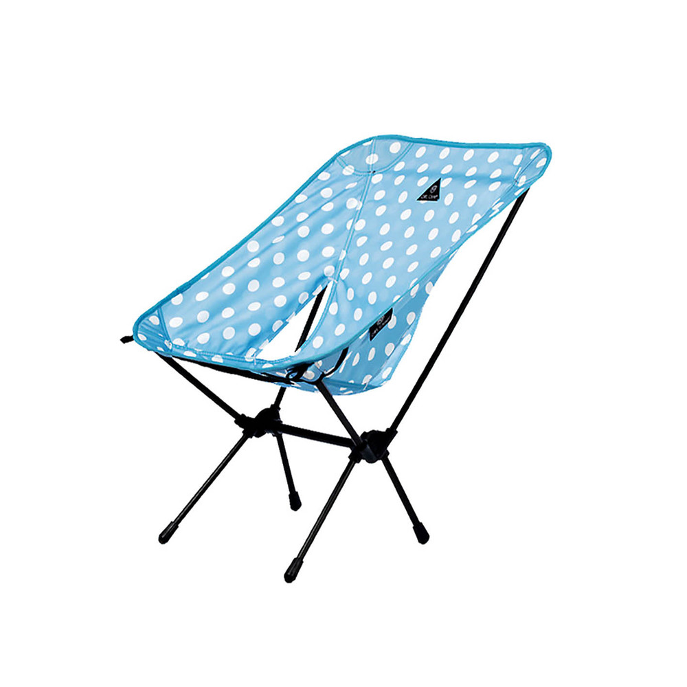 OWL CAMP 藍色水玉點點椅